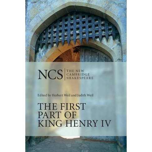 The First Part of King Henry IV - (New Cambridge Shakespeare) by  William Shakespeare (Paperback) - image 1 of 1