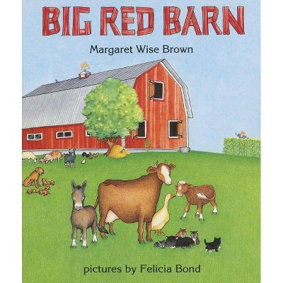 Big Red Barn by Margaret Wise Brown (Board Book)