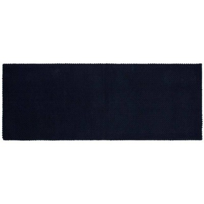 22 x60  Low Chenille Memory Foam Bath Rugs & Mats Xavier Navy - Threshold™