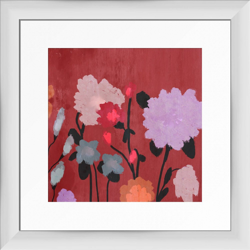 13 34 X 13 34 Centaury Framed Wall Art White Ptm Images