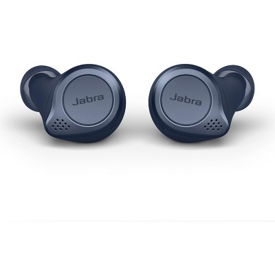 Jabra Elite Active 75t Navy Voice Assistant Enabled True Wireless Sports Earbuds with Charging Case