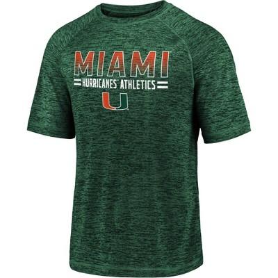 NCAA Miami Hurricanes Men's Short Sleeve Crew Neck Team T-Shirt