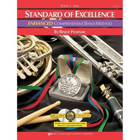 KJOS Standard Of Excellence Book 1 Enhanced Flute - image 1 of 1
