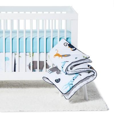 Sweet Jojo Designs Crib Bedding Set - Mod Jungle - 11pc