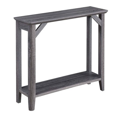 Winston Hall Table Weathered Gray - Breighton Home