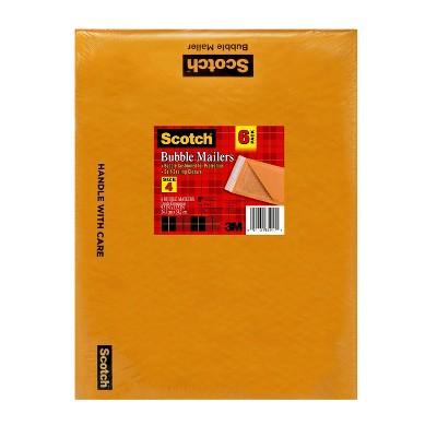 """Scotch 6pk 9.5"""" x 13.5"""" Bubble Mailers"""