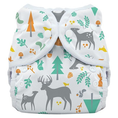 Thirsties Snap Duo Wrap, Woodland - Size One