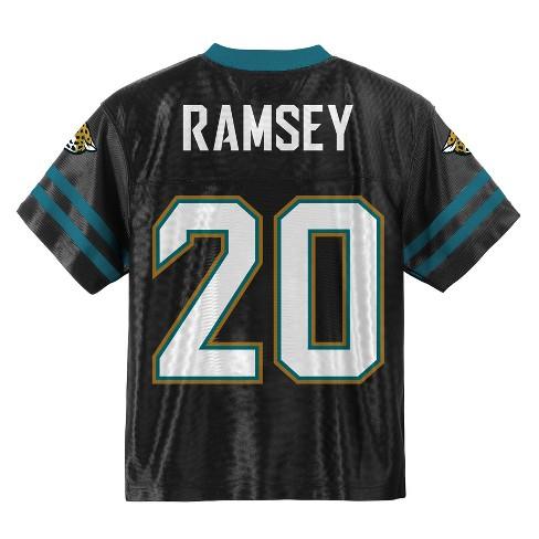 official photos 06281 39998 Jacksonville Jaguars Boys' Jalen Ramsey Jersey - S