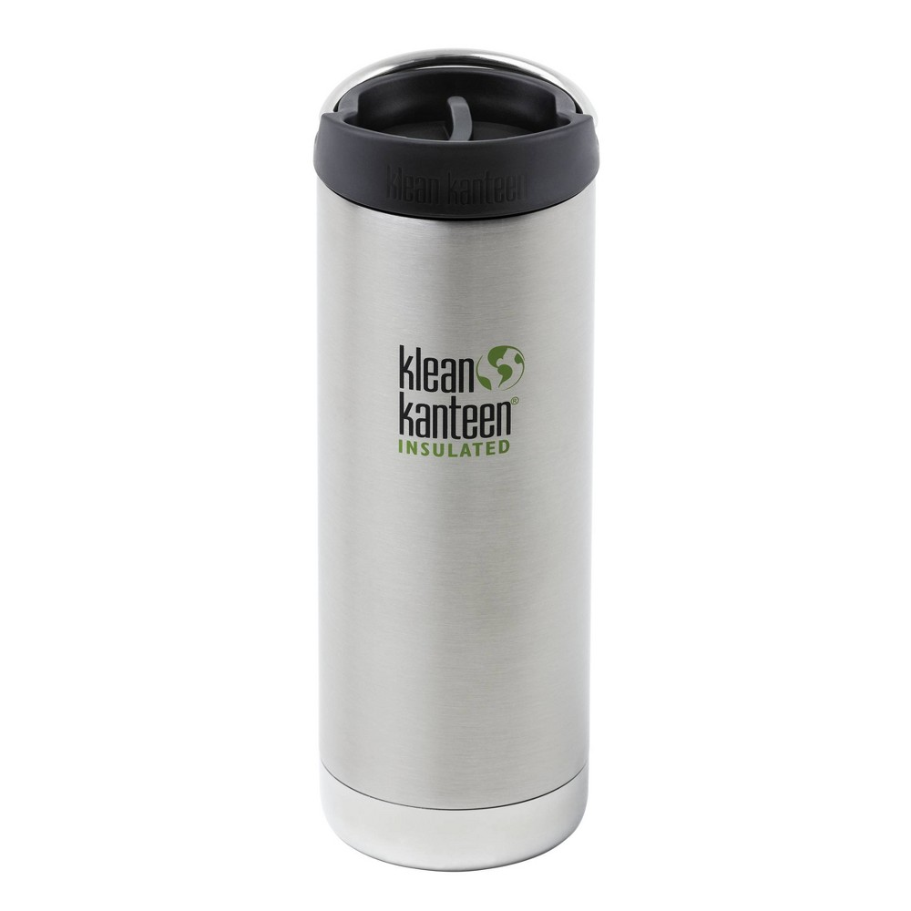 Image of Klean Kanteen 16oz Stainless Steel Portable Drinkware Stainless Steel, Silver