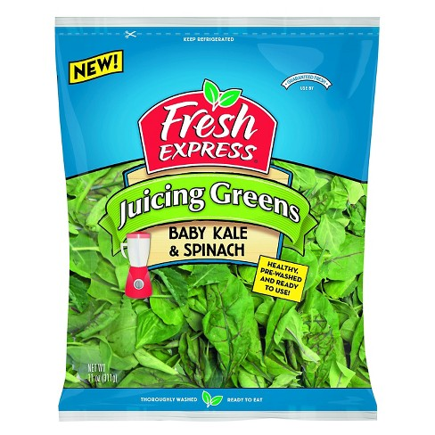 Fresh Express Juicing Greens Baby Kale & Spinach Lettuce Mix - 11oz - image 1 of 1