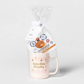 14oz Stoneware Abuelita Bonita Travel Mug and Stroopwafel -  Threshold™