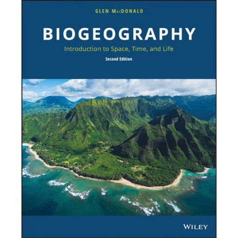 Biogeography : Introduction to Space, Time, and Life -  2 by Glen Macdonald (Hardcover) - image 1 of 1