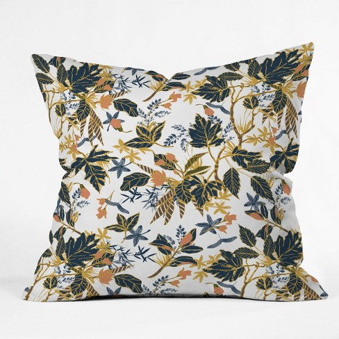 Marta Barragan Botanical Square Throw Pillow Green - Deny Designs - image 1 of 2