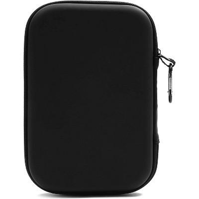 Organizer Zipper Bag Fabric Travel Storage Bag USB Hard Drive Cable Cord Case 1x