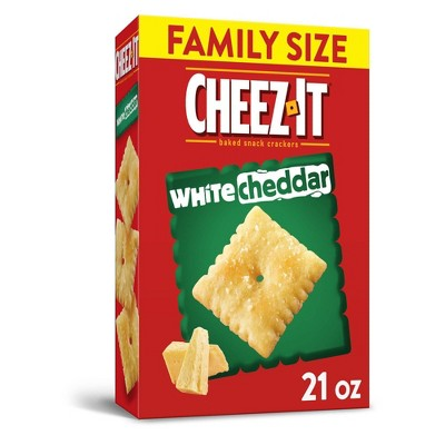 Cheez-It White Cheddar Baked Snack Crackers - 21oz