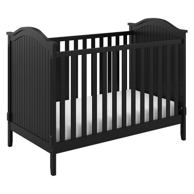Storkcraft Monterey 3-in-1 Convertible Crib - Black