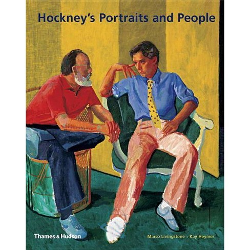 Hockney's Portraits and People - by  Marco Livingstone & Kay Haymer (Paperback) - image 1 of 1