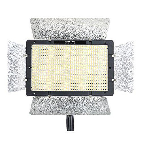 Yongnuo YN-1200 3200-5500K Dimmable LED Video Light for Camera or Camcorder, 9300 Lumens - image 1 of 2