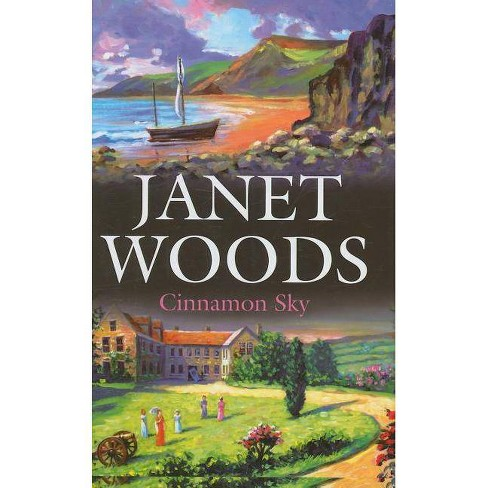 Cinnamon Sky - (Severn House Large Print) by  Janet Woods (Hardcover) - image 1 of 1