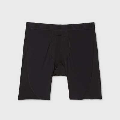 Men's Long Boxer Briefs - All in Motion™ Black Onyx