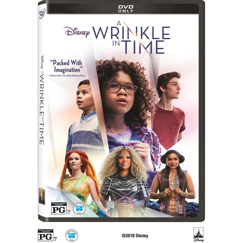 A Wrinkle In Time (DVD), Movies was $14.99 now $7.5 (50.0% off)
