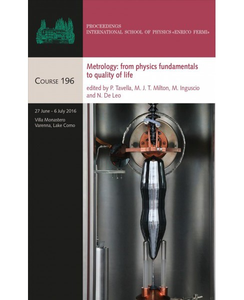 Metrology : From Physics Fundamentals to Quality of Life -  (Hardcover) - image 1 of 1