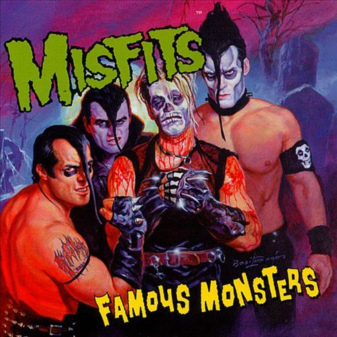 Misfits - Famous Monsters (CD) - image 1 of 1