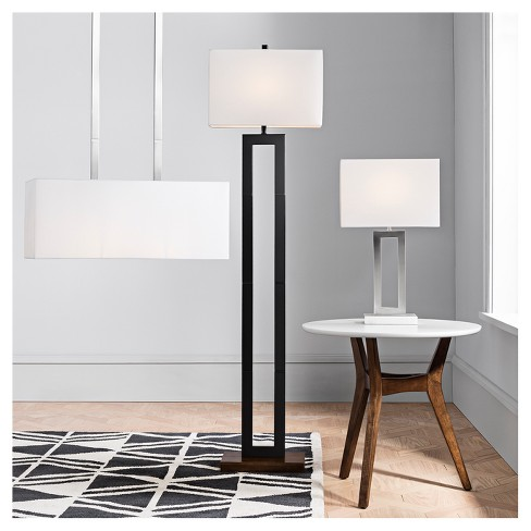 weston window pane floor lamp black project 62 target
