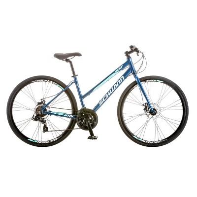 Schwinn Women's Circuit 28  Hybrid Bike with Disc Brake - Navy