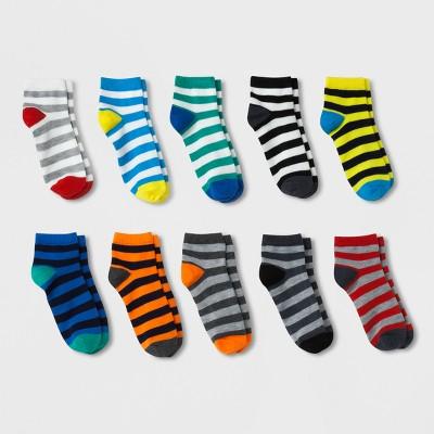 Boys' 10pk Ankle Socks - Cat & Jack™