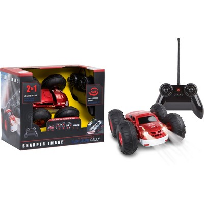 Sharper Image Remote Control RC Flip Stunt Vehicle