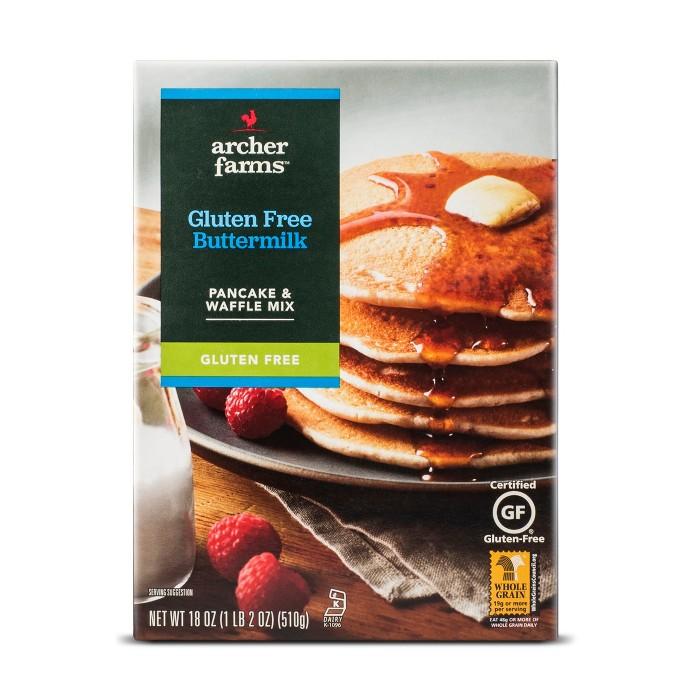 Gluten Free Buttermilk Pancake Mix - 18oz - Archer Farms™ - image 1 of 1