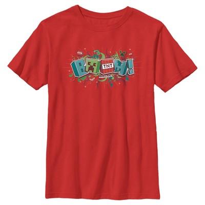 Boy's Minecraft Boom T-Shirt