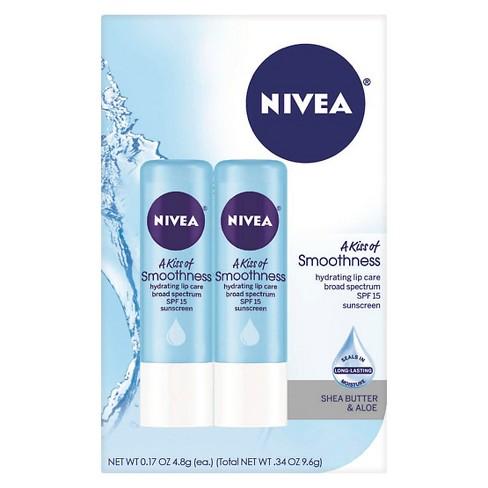 NIVEA Smoothness Lip Balm Dual Pack - image 1 of 2