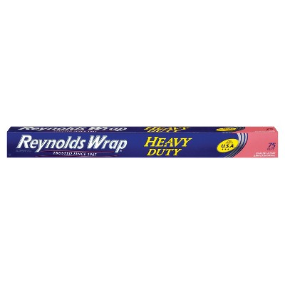 Reynolds Wrap Heavy Duty Wide Aluminum Foil - 75 sq ft