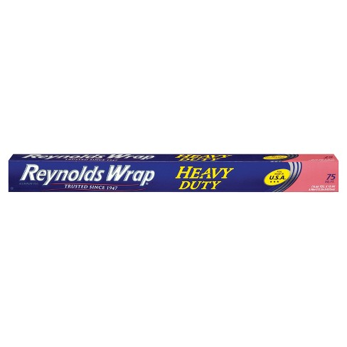 Reynolds Wrap Heavy Duty Wide Aluminum Foil - 75 sq ft - image 1 of 4