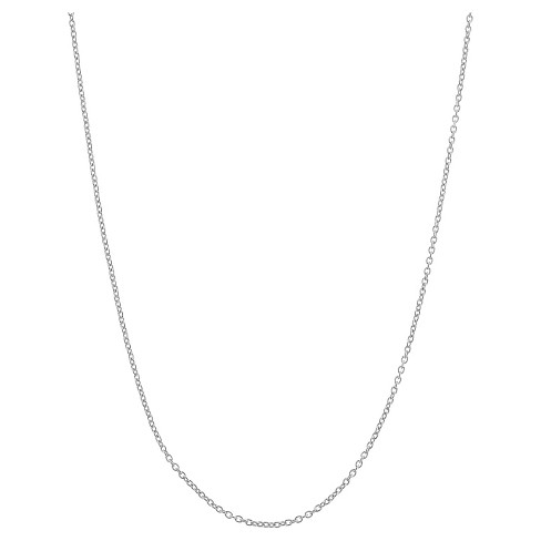 "Adjustable Cable Chain In Sterling Silver - 16"" - 22"" - image 1 of 2"