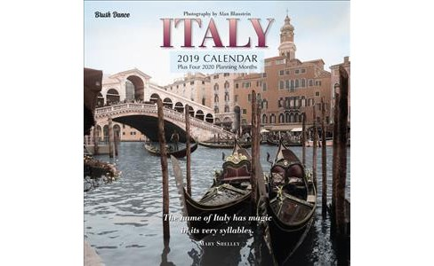 Italy 2019 Calendar -  (Paperback) - image 1 of 1