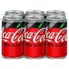 Coca-Cola Zero Sugar - 6pk/7.5 fl oz Mini-Cans - image 4 of 4