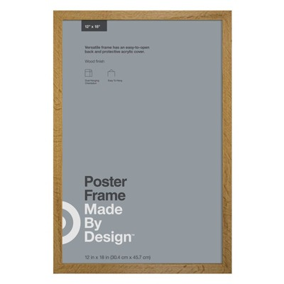 12  x 18  Poster Frame Oak - Made By Design™