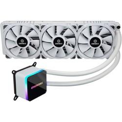 Enermax LIQTECH II 360 ELC-LTTO360-TBP-W Cooling Fan/Radiator - 3 x 120 mm - 3 x 102.2 CFM - 28 dB(A) Noise - Liquid Cooler Cooler - Twister Bearing
