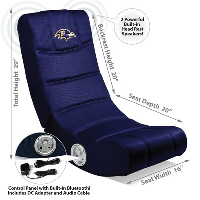 NFL Imperial Video Game Chair With Bluetooth : Target