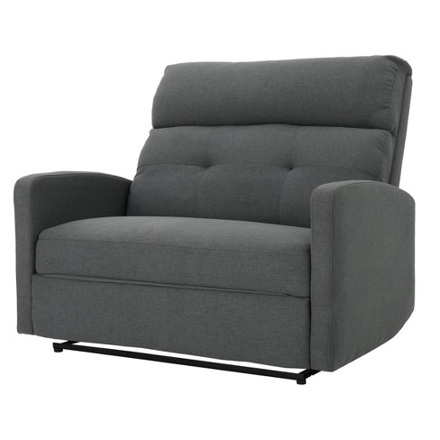 Halima 2 Seater Recliner Charcoal