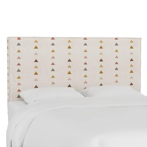 Queen French Seam Slipcover Headboard Peak Mustard - Cloth & Company - image 1 of 4