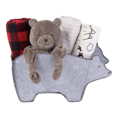 My Tiny Moments Welcome Baby Shaped Gift Set - Bear 5pc