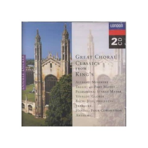 Dwan - Great Choral Classics from King's Choir of King's College, Cambridge (CD) - image 1 of 1