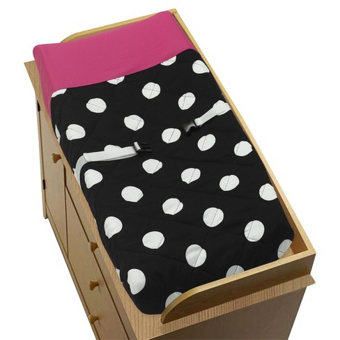 Sweet JoJo Designs Changing Pad Cover - Hot Dot - image 1 of 1