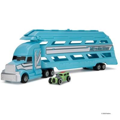 Micromachines Mini Vehicle Hauler - Blue