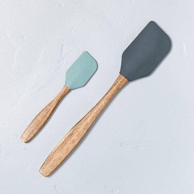 Silicone Spatula Set of 2 Blue/Green - Hearth & Hand™ with Magnolia