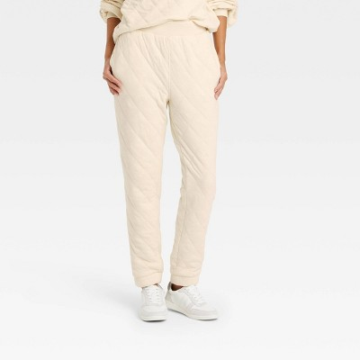 Women's Quilted Jogger Pants - Universal Thread™